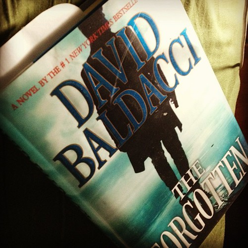 My current read love David Baldacci books. #suspense #thrillers. #goodreads
