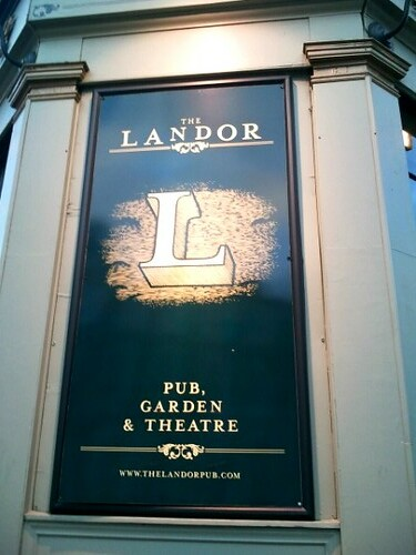 The Landor: Pub; Garden & Theatre in Clapham North
