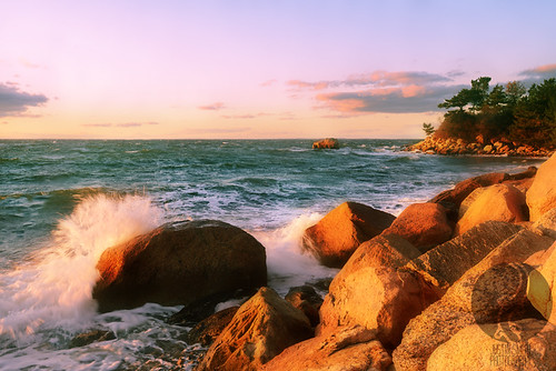 ocean sunset beach capecod massachusetts woodshole buzzardsbay justinsmith nikon1735mmf28 nikond800 justinsmithphotocom
