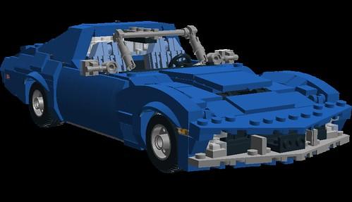 Corvette C3 front-side