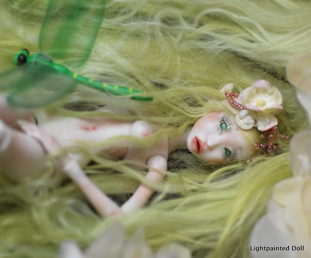 Lightpainted Doll ELF