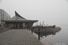 A foggy day, Drammen, Norway