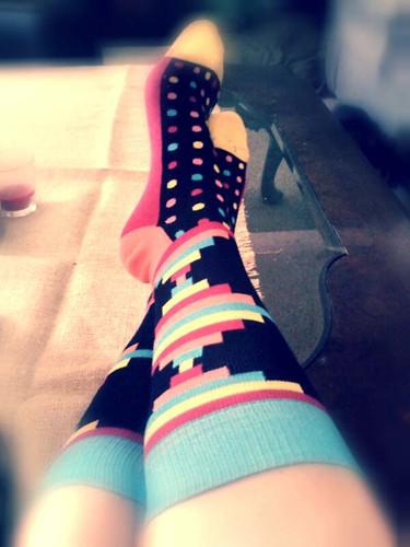March Sock Panda