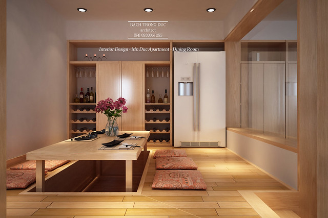 apartment interior design dining room japanese style