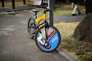 ガルパン自転車@大洗。