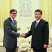 US Treasury Department: Secretary Lew met with Chinese President Xi Jinping in Beijing on Tuesday, March 19, 2013. (Monday Mar 25, 2013, 10:56 AM)