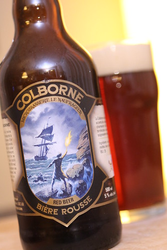 Microbrasserie Le Naufrageur Colborne Biere Rousse