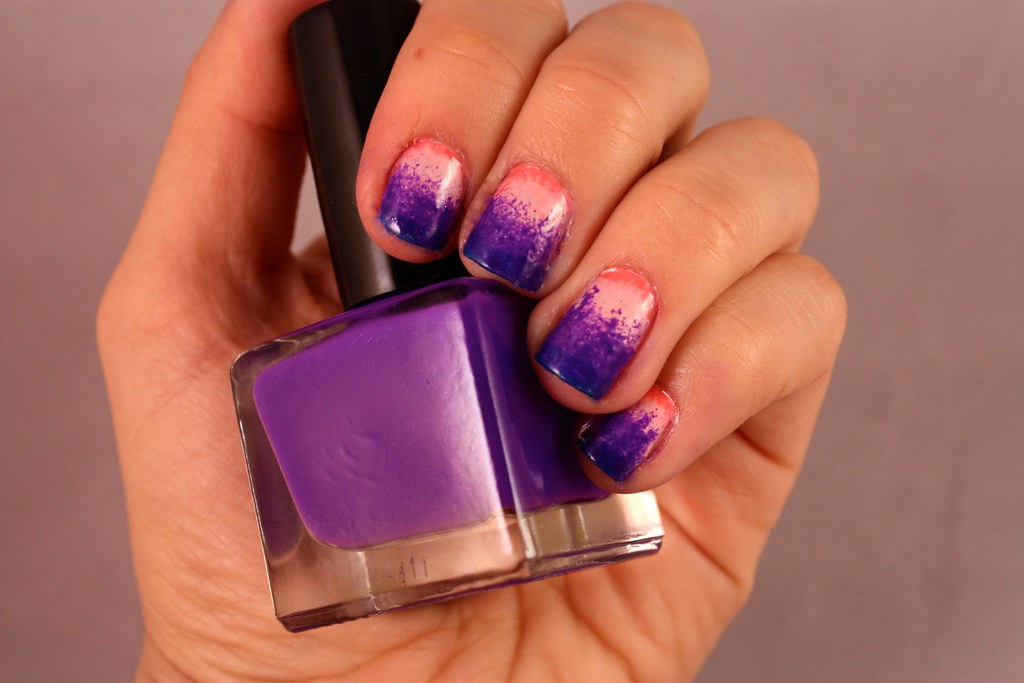 Sunset Ombre Manicure