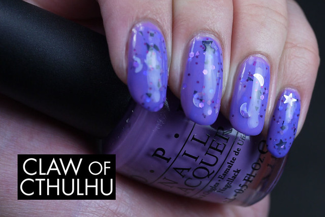 Daily Lacquer Hotaru Swatch (over OPI Planks A Lot)