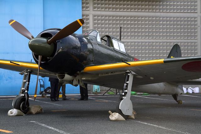 Mitsubishi A6M5 零戦52型