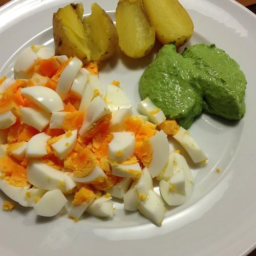 Frankfurter Grüne Soße Mit Ei Und Pellkartoffeln @ Le Gourmand, Private Home Fine Dining