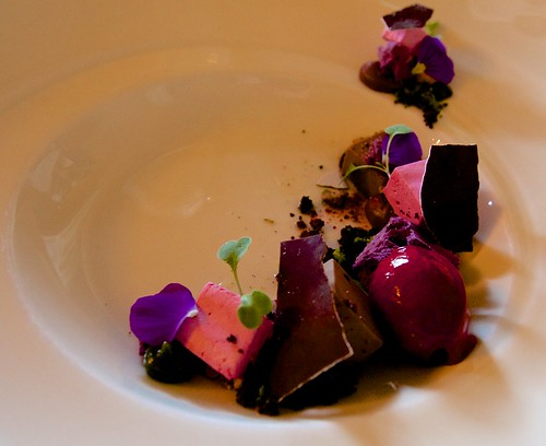 Chocolate and black currant