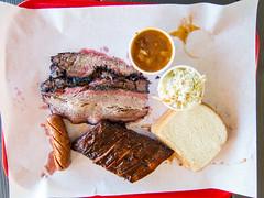 Ray's BBQ in Huntington Park - brisket, ribs, sausage