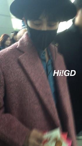 Big Bang - Incheon Airport - 21mar2015 - G-Dragon - Hi GD - 04