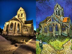 Auvers sur Oise - tribute to Van gogh