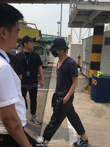 Big Bang - Tianjin Airport - 05jun2016 - 一定要努力呀__Aria - 01
