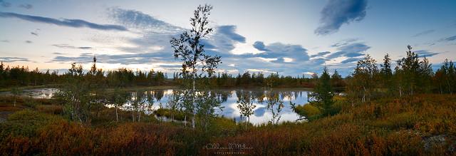 panorama of north lake