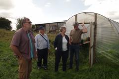 Organic farm visit