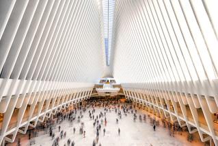 Oculus train station New York