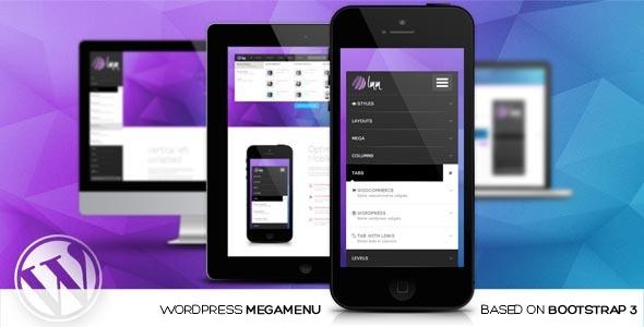 LMM v1.2.4 - WordPress Responsive Mega Menu based on Bootstrap