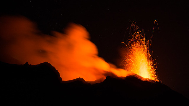 Stromboli Lava Fountain