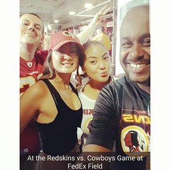Chronicles from the Redskins vs Cowboys Game at FedEx Field. Tough loss for my Redskins. Always amazing times at the Redskins Games #HTTR #redskinsbaby #fedexfield #redskins #redskinscrew #redskinstailgate #tailgatecrew