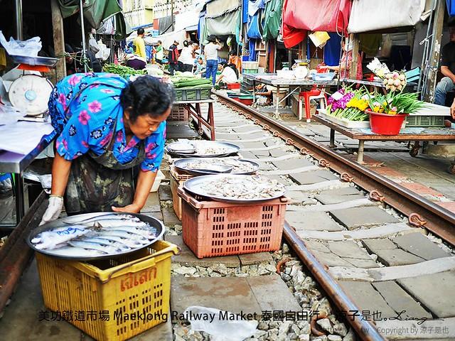 美功鐵道市場 Maeklong Railway Market 泰國自由行 19