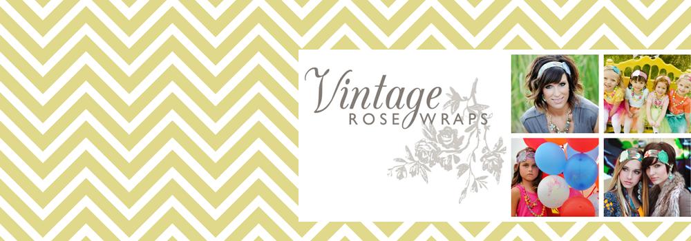 Vintage Rose Wraps