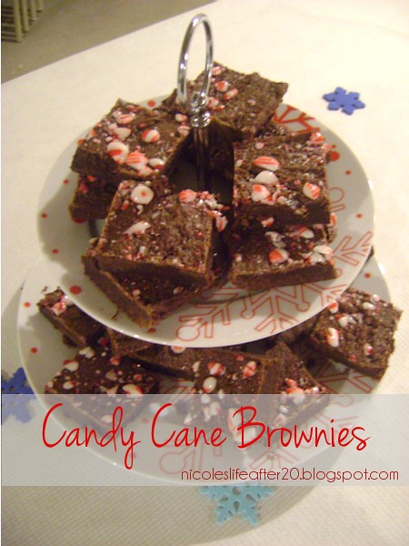 Candy cane brownies from my blog
