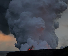 types of volcanic eruptions, volcano, volcanic landform,