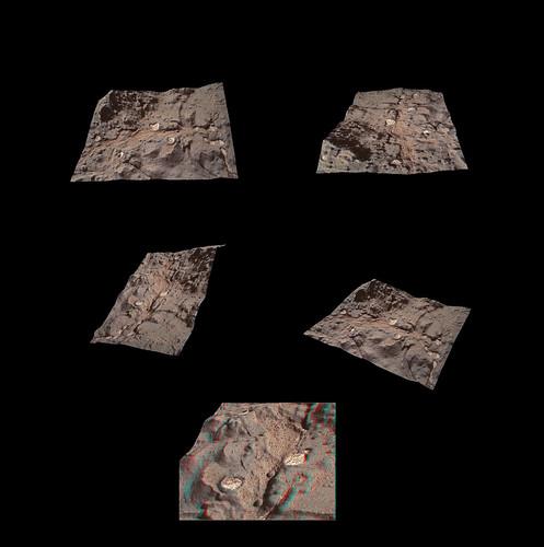 CURIOSITY sol 154 MAHLI 3D