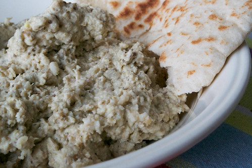 home made baba ghanoush