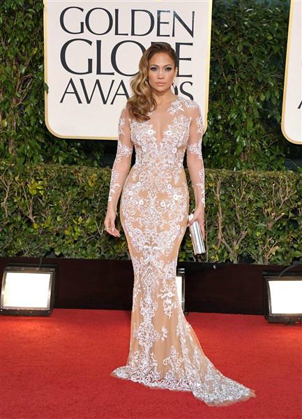 Golden Globe Jennifer Lopez 2013
