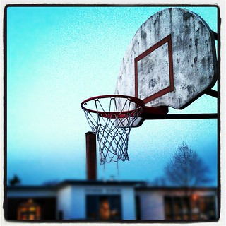 Winter Twilight Hoops