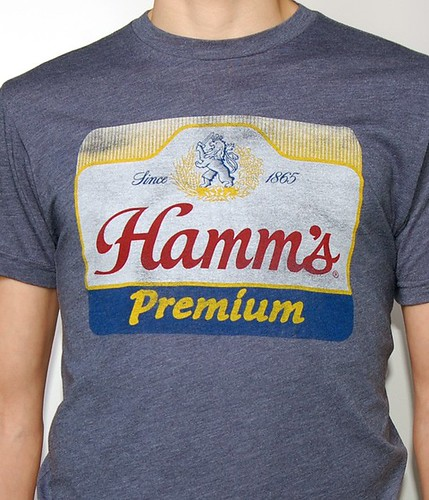 Hamm's Beer Shirt By Sportiqe Apparel
