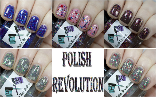 Polish Revolution Swatches