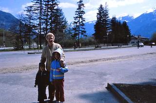 Italy   -   Jessica, Jeb & my mother   -   May 1980