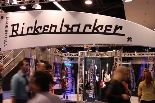 2013 NAMM Show - Rickenbacker