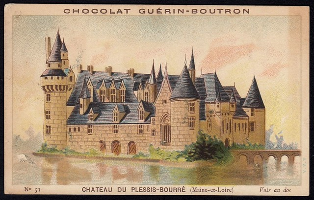 French Tradecard - Chateau du Plessis-Bourre