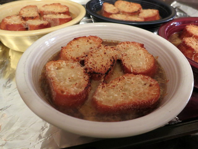 French(ish) onion soup