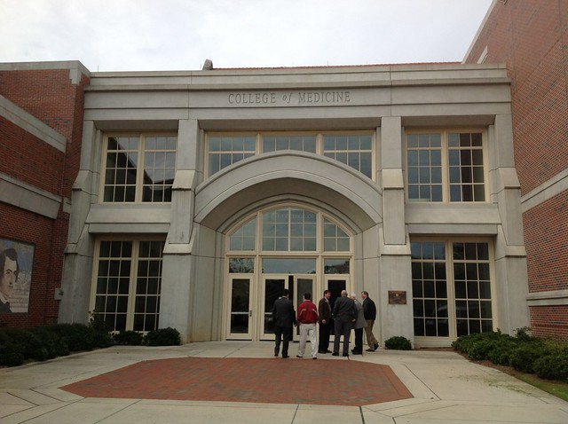 College of Medicine tour, February 2013