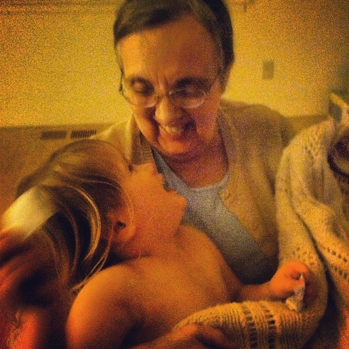 Grandma and Dottie.