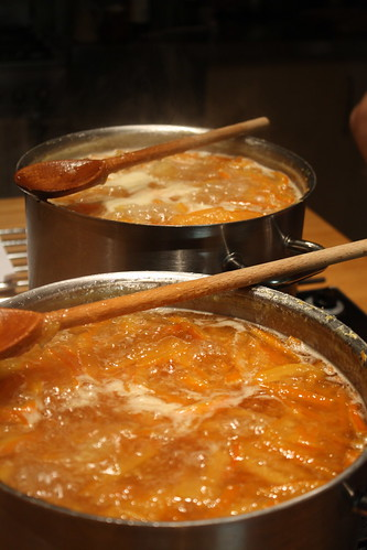 Marmalade on the boil