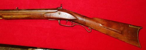 S. D. HINSDALE,   PRINCETON, ILLINOIS,  Rifle -  1840's