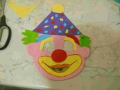 fig 6 maschera di pagliaccio