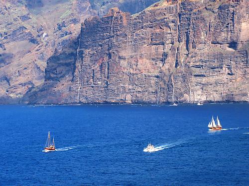 Los Gigantes, Boat Trips, Tenerife