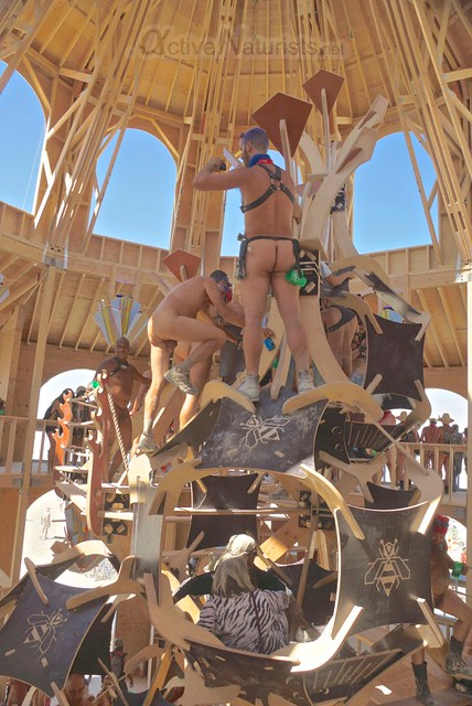 naturist 0014 Burning Man 2012, Black Rock City, NV, USA