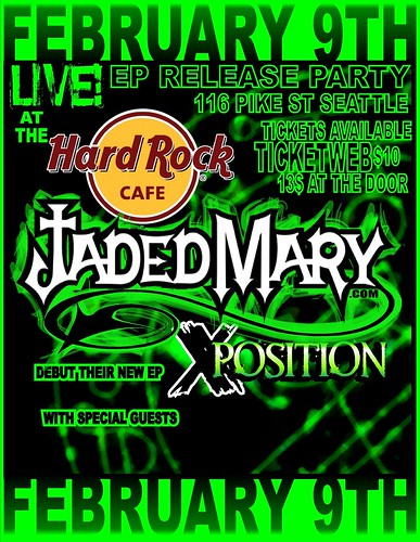 Jaded Mary EP Release Party