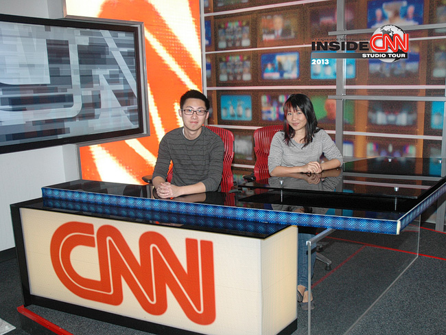 Photo by the CNN Center Studio Tour | Tourists at Home Atlanta Edition