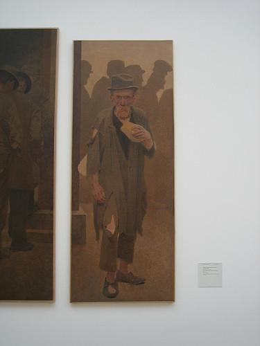 IMG_8323 - La Bouchée de pain (The Mouthful of Bread), études pour La Charité (Charity) (detail), 1892-1908, Ferdinand Emmanuel Pelez de Cordova, dit Fernand Pelez, Petit Palais, Paris.jpg